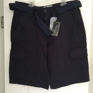 Navy Cargo Shorts - Never Worn